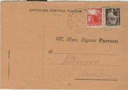 CALCIO (BERGAMO)-RICEVUTA NOTIFICAZIONE MATRIMONIO,1950,PER PARROCCHIA DI VILLANOVA MONDOVI (CUNEO), - Nozze