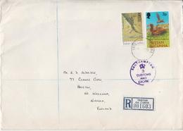Postal History: Tristan Da Cunha 4 Registered Covers - Tristan Da Cunha