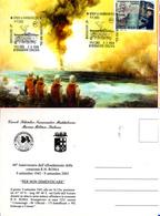 LA MADDALENA (SS) 2003-60°DELL' AFFONDAMENTO DELLA CORAZZATA R.N.ROMA -ANNULLO SPECIALE - Cartes Postales
