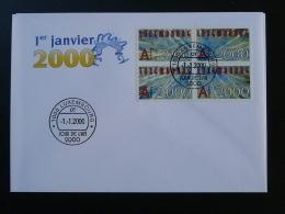 FDC Jour De L'An Luxembourg 01 Janvier 2000 - FDC