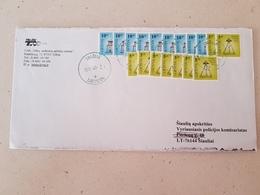 Lithuania Litauen Cover Sent From Telsiai To Siauliai 2011 - Lituania