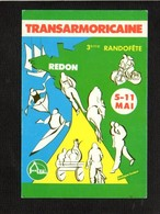 """Sport  / 3éme Rando Fête """" Transarmoricaine """" De Redon Mai 1986 - Cartes Postales"""