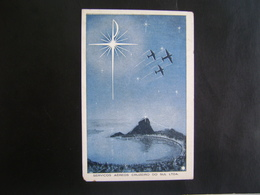 BRAZIL - RARE OFFICIAL POST CARD FROM CRUZEIRO DO SUL COMPANY IN THE STATE - 1946-....: Moderne