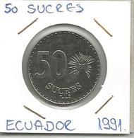 A12 Ecuador 50 Sucres 1991. - Ecuador