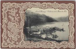 74   Annecy  Lac Talloires  Et Le Bout Du Lac Carte Avec Relief - Annecy