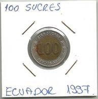 A12 Ecuador 100 Sucres 1997. - Ecuador