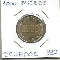 A12 Ecuador 1000 Sucres 1997. - Ecuador