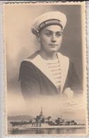 MARIN (Mousse) Avec Bateau  1944- Photo TOULON - Personnages