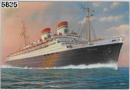 Conte Di Savoia - Italia Societa Di Navigazione - Steamers