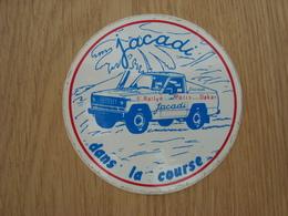 AUTOCOLLANT PARIS DAKAR JACADI - Stickers