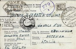 PRIGIONIERI POW CAMP DEPOT IV DJELFA ALGERIA 1943 X RIPACANDIDA - 1900-44 Victor Emmanuel III.