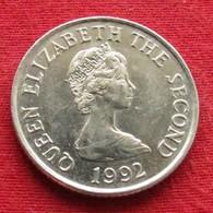 Jersey 10 Pence 1992 KM# 57.2 - Jersey