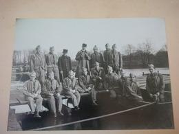 GRANDE PHOTO SOLDAT DU GENIE 4E REGIMENT - Guerre, Militaire
