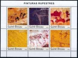 D - [402341]TB//**/Mnh-Guinée-Bissau 2003 - Peintures Rupestre - Arte