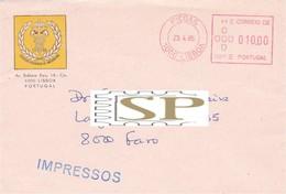Portugal 1985 Sociedade Portuguesa De Cancerologia Cancro Saúde Red Meter Picoas Franquia Cancer Heath - Malattie