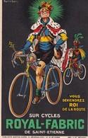 PUBLICITE(ROYAL FABRIC) CYCLES - Publicité