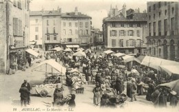 15 , AURILLAC , Le Marché   , * CF 366 14 - Aurillac