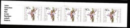 B 819) BRD 1984 Markenheftchen MH Für Die Wohlfahrtspflege Mit Mi# 1227 (5), Dingel Orchidee Blumen Pflanzen - Markenheftchen