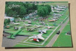 Belarus. Museum Of Aviation Technique.  Helicopter /   War Plane  - Military Trainer - Modern  Postcard 2003 - 1946-....: Moderne