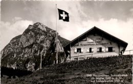 Berggasthaus Frohnalpstock Ob Mollis Mit Frohnalpstock (1940) * 16. 6. 1948 - GL Glarus
