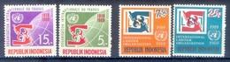 B163- Indonesia 1969. 50 Years Of ILO. - Indonesia