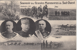 Souvenir Des Grandes Manœuvres Du Sud Ouest - Manoeuvres