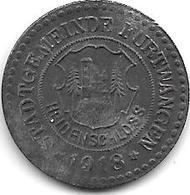 *notgeld  Furtwangen 10 Pfennig 1918 Zn   4642.2 / F 148.2 - [ 2] 1871-1918 : Empire Allemand