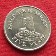 Jersey 5 Pence 1988 KM# 56.1 - Jersey