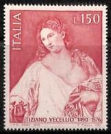 [810863]TB//**/Mnh-Italie 1976 - N° 1271, Tiziano Vecellio, Dit Le Titien, Peintures - Tableaux - Arte