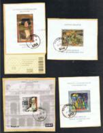 2003 - 2005 Vier Blöcke Sehrgut Gestempelt Mi: AT BL 19 22 26 29  Yt: BF23 26 31 34 - Blocks & Kleinbögen