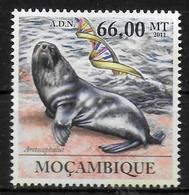 MOZAMBIQUE N°  4357   * *    ADN Semblable Phoque - Mammifères Marins