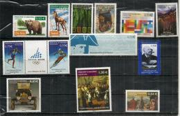 Année Complète 2006, 13 Timbres  Neufs ** Napoleon 1er, Culture Du Tabac,Ours Des Pyrénées,etc - Andorra Francese