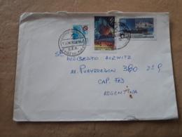 Chili, Enveloppe Distribuée Avec Beaucoup De Timbres Modernes 1983 - Cile