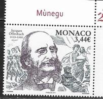 MONACO, 2019, MNHMUSIC, COMPOSERS, OPERA, JACQUES OFFENBACH,1v - Music