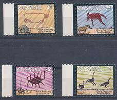 1975 Bostwana Y&Tn°288/291 Neuf** - Prehistoire, Peintures Rupestres. - Prehistoria