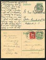Deutsches Reich / 1925 / Gedenkpostkarte Mi. P 204 2x O (23736) - Germany