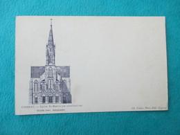 COGNAC _ Eglise Saint Martin (en Construction)  - Carte Précurseur, Dos Non Sépare - Cognac