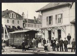 Gare D'Aubonne - Bahnhof - Zug - Belebt - Schweiz