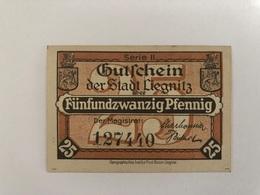 Allemagne Notgeld Liegnitz 25 Pfennig - Verzamelingen