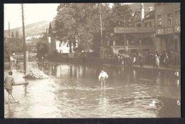 Rorschach - Hochwasser - Restaurant Bavaria - Belebt -1910 - SG St. Gallen