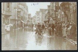 Rorschach - Hochwasser - Leute Auf Holzstegen - 1910 - SG St. Gallen