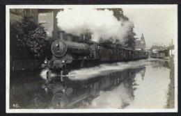 Rorschach - Hochwasser - Dampflok - Hafenbahnhof - 1926 - SG St. Gallen