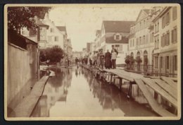 Rorschach - Hochwasser - 1890 - Rar - Sehr Belebt - Foto Keine AK - SG St. Gallen