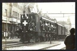 Rorschach - Erste Elektrische Eisenbahn In Rorschach  - 1927 - SG St. Gallen