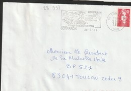 FLAMME PERMANENTE  83  GONFARON - Annullamenti Meccaniche (Varie)