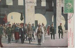 CPA Constantinople - Visite De L'empereur D'Allemagne (belle Scène) - Turkey