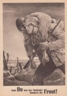 Deutsches Reich Tag Der NSDAP Postkarte 1943 - Oblitérés