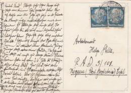 Deutsches Reich Perfin / Firmenlochung Postkarte 1936 AMK - Deutschland