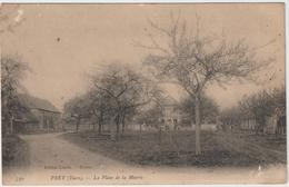 Eure :PREY  :  La  Palce   De La  Mairie - Autres Communes