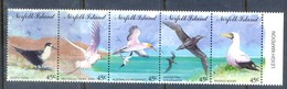 D192- Birds Set Of Norfolk Island. Mountains. See Life. Plants. - Birds